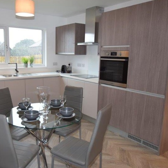 Thumbnail - the kitchen (after) - Clepington Road Showhome
