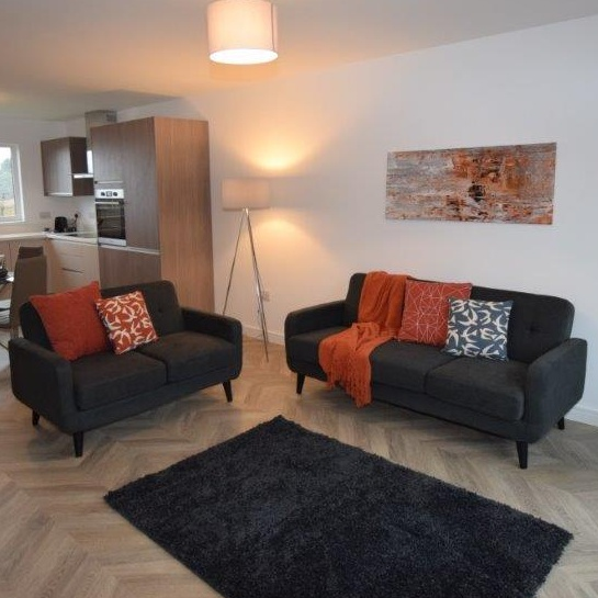 Thumbnail -The living space after staging - Clepington Road Showhome